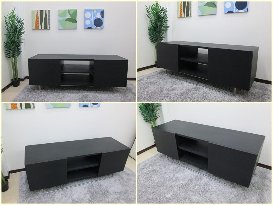 ブラックオーク材  テレビボード
