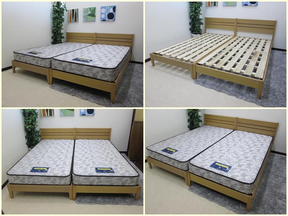 スパイラルフィット シングルベッド2本セット