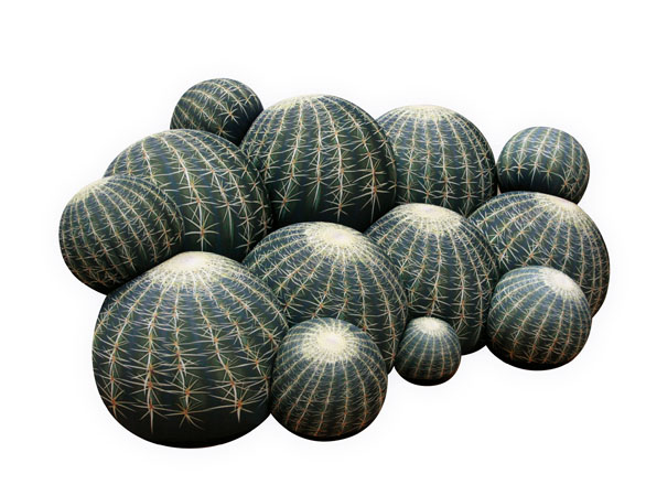 Canape cactus サボテンソファ